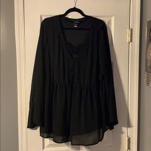 Torrid bell sleeve top